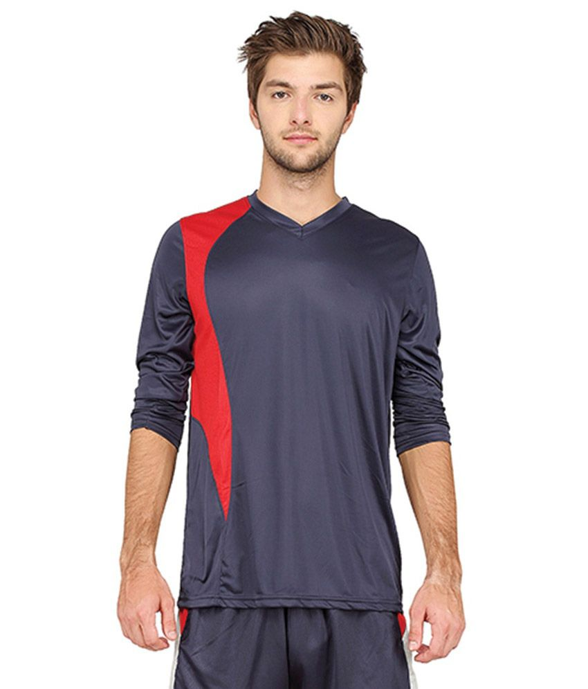 Campus Sutra T Shirts (Navy & Red)
