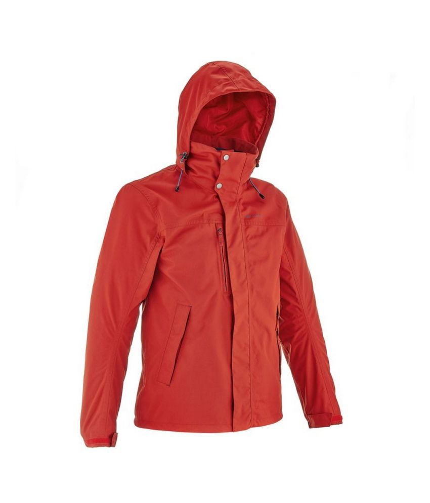QUECHUA Arpenaz 300 Rain Men's Waterproof 3 in 1 Hiking Jacket By Decathlon