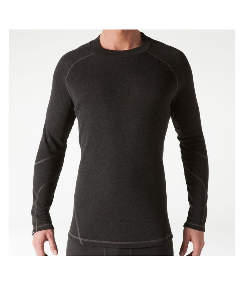 WEDZE Men's Warm Base Layer Top By Decathlon