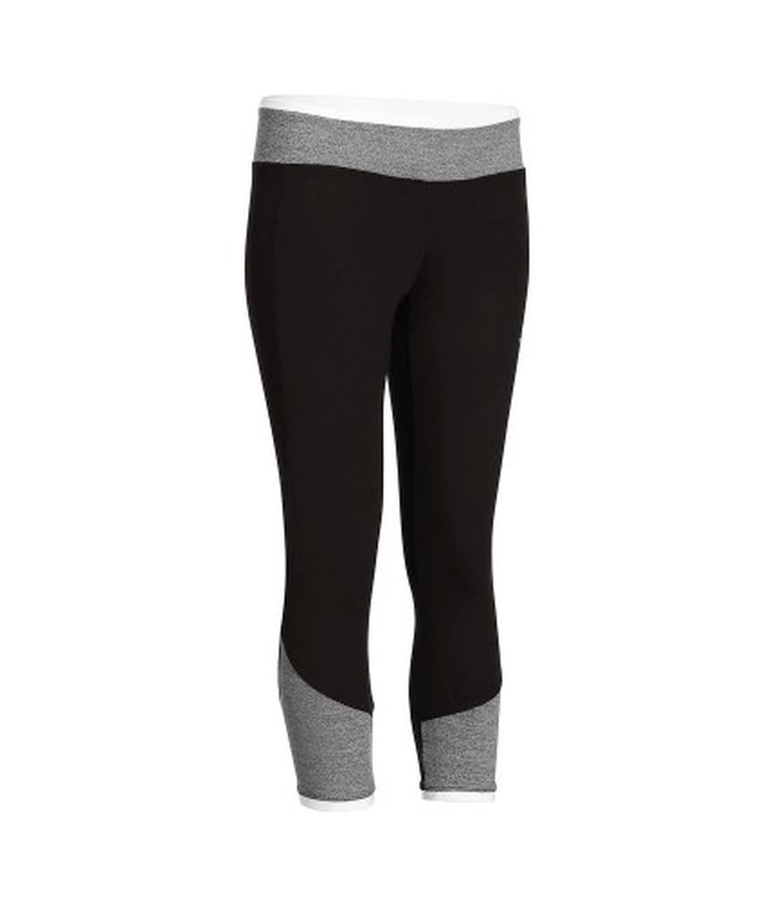 DOMYOS Energy 7/8 Bico Women's Cardio Leggings By Decathlon