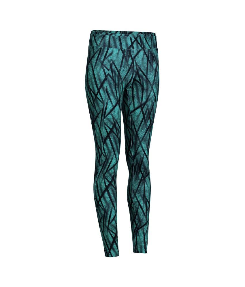 DOMYOS Energy Creon Aop Women's Cardio Leggings By Decathlon