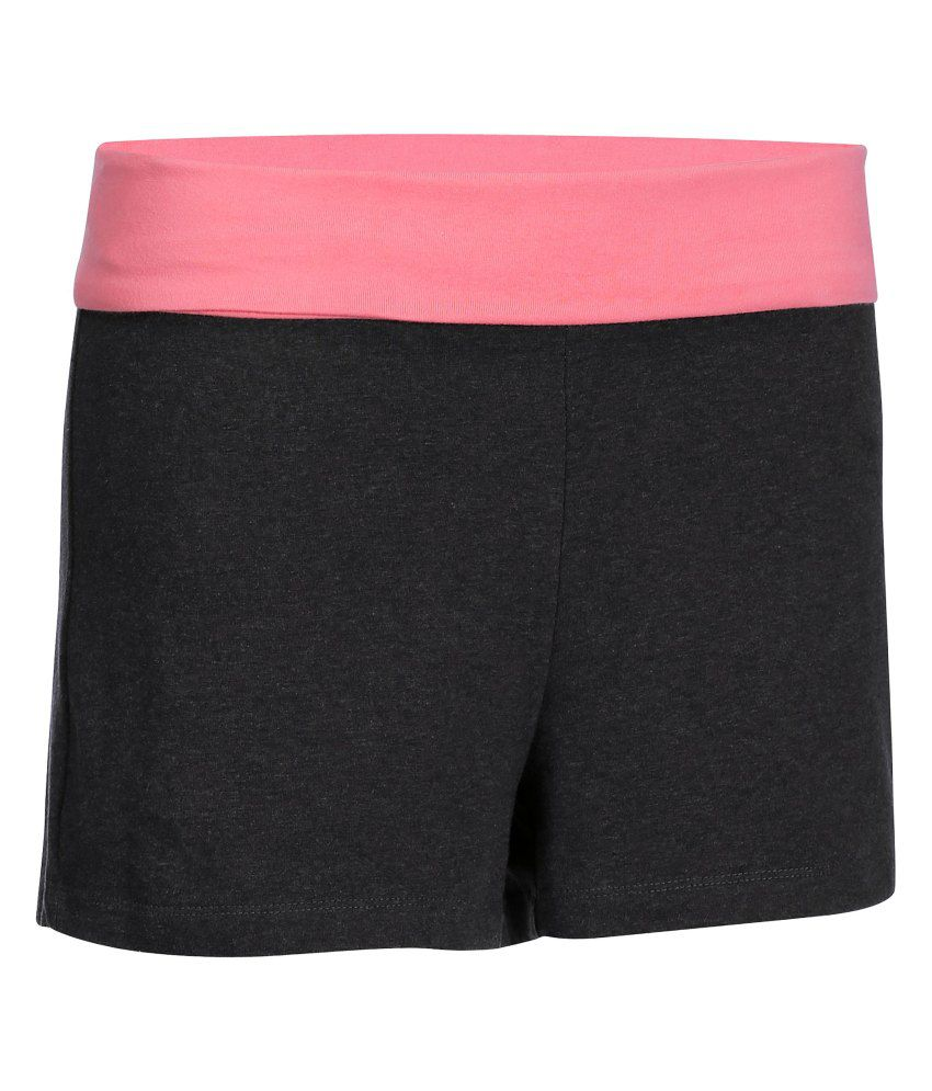 DOMYOS Women's Organic Yoga Shorts By Decathlon