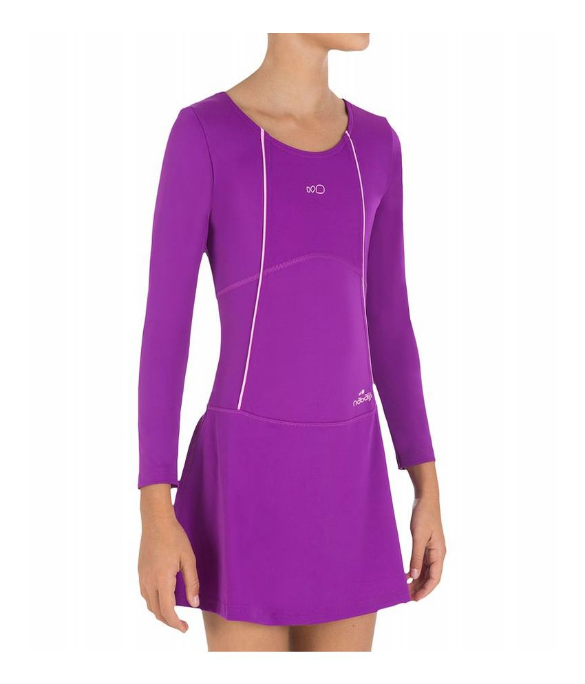 Nabaiji Audrey Sleeve Girls Swimwear By Decathlon