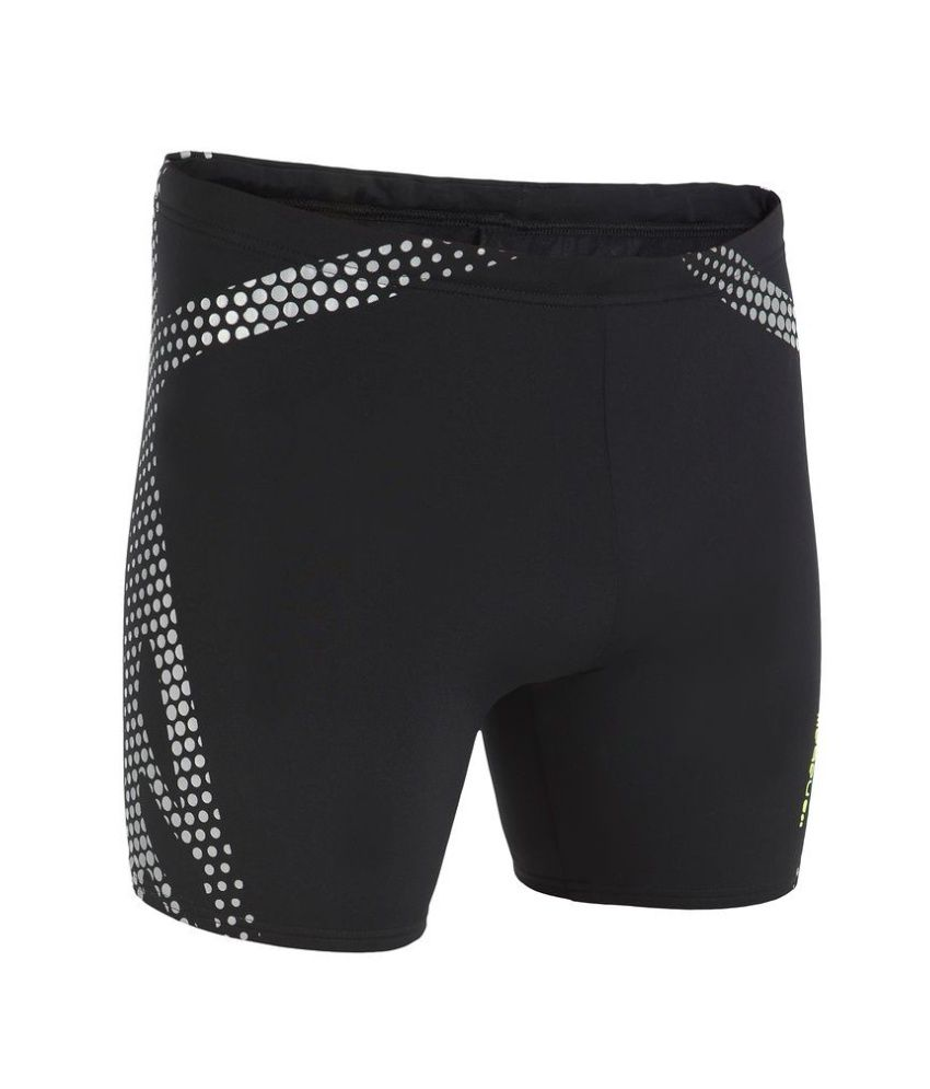 NABAIJI B Ready Long Boxer Tribel Print Men's Swimwear By Decathlon