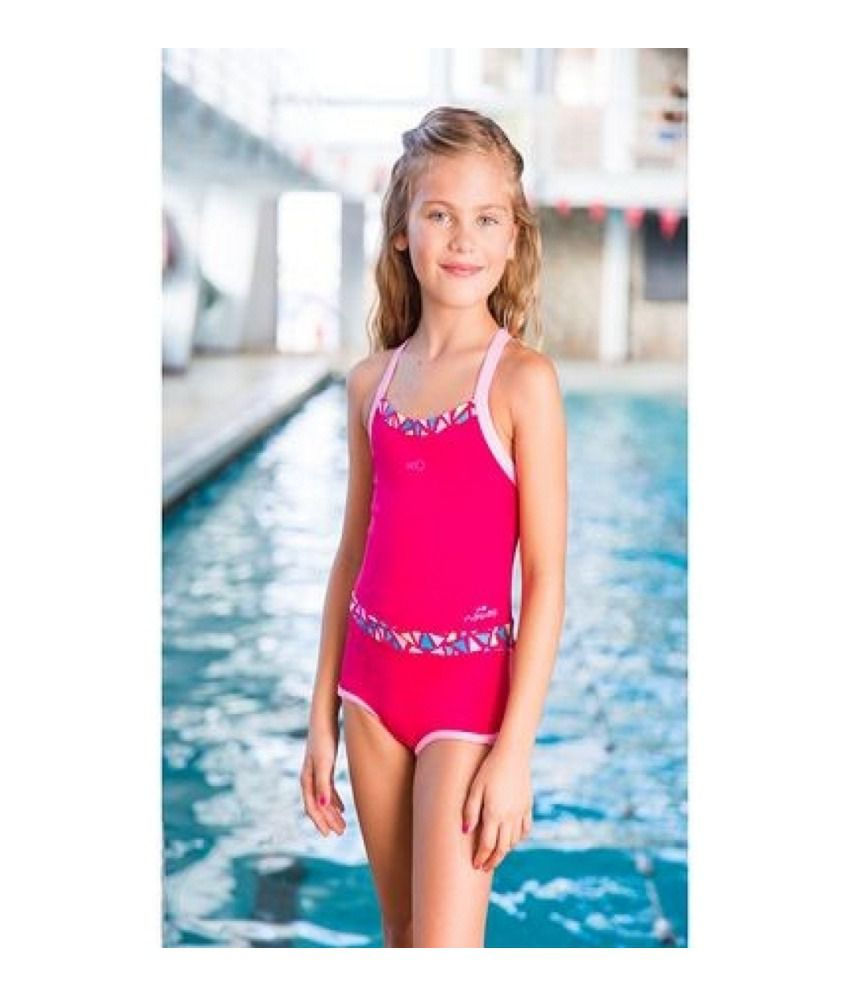 NABAIJI Debo Light Shorty Mozi Girls Swimwear By Decathlon