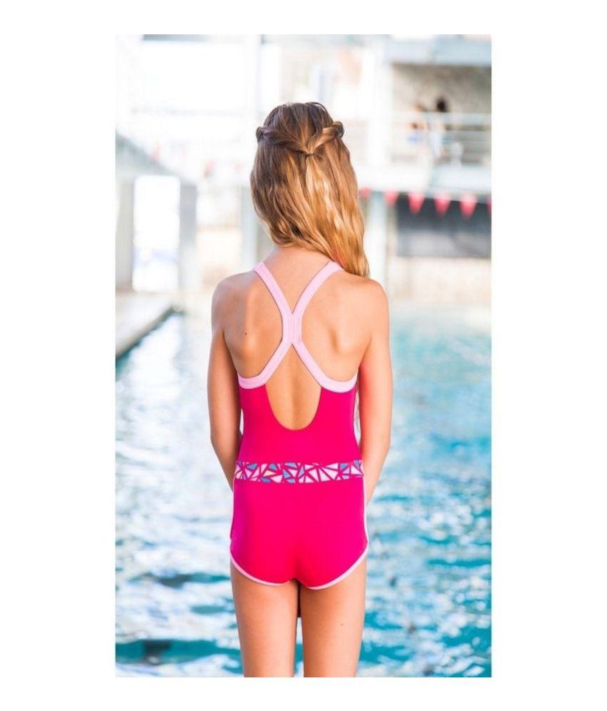 ab87cda088ef0 ... NABAIJI Debo Light Shorty Mozi Girls Swimwear By Decathlon/ Swimming  Costume ...