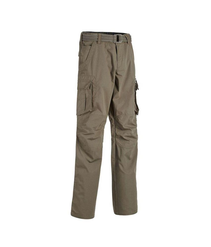 QUECHUA Arpenaz 500 Men's Hiking Trousers By Decathlon