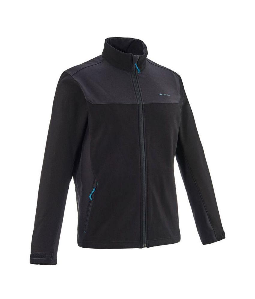 QUECHUA Forclaz 100 Men's Softshell Hiking Jacket By Decathlon