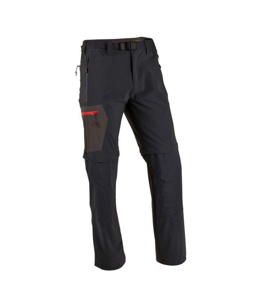 QUECHUA Forclaz 500 Men's Convertible Hiking Trousers By Decathlon