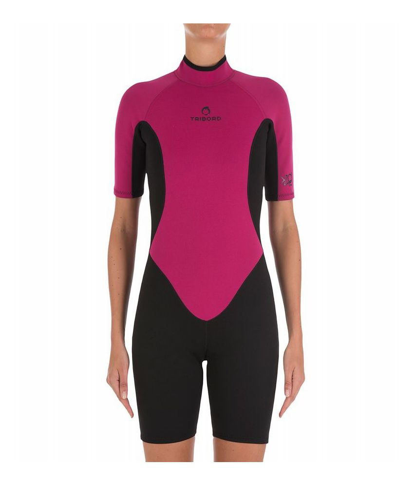 Tribord Shorty 100 Women Surf Suit By Decathlon