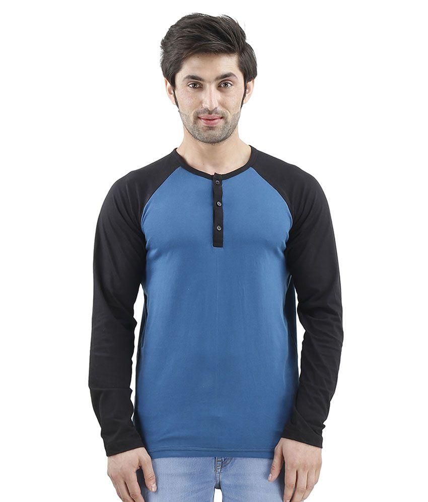 Inkovy Blue Henley T Shirts