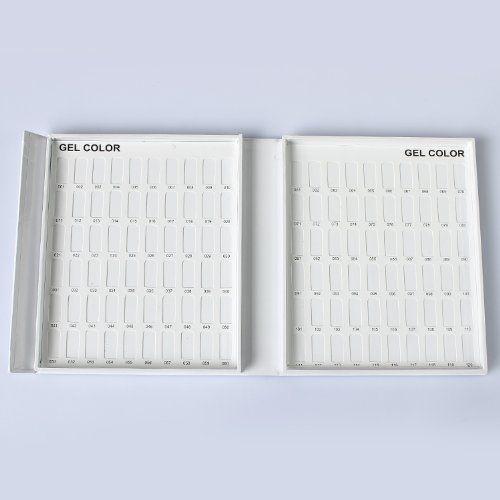 Makartt Nail Polish Color Book Set Uv Gel Card Tech With 5 Chart