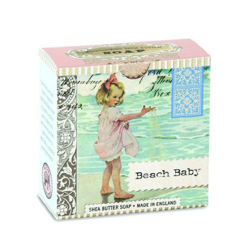 Michel Design Works Imported Michel Design Works Little Soap, Beach Baby, 3.5 Ounce
