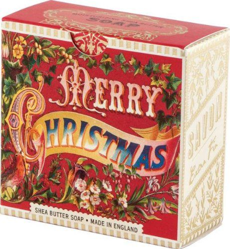 Michel Design Works Imported Michel Design Works Merry Christmas Little Soap