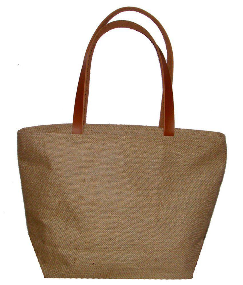Foonty Beige Lunch Bags - 1 Pc