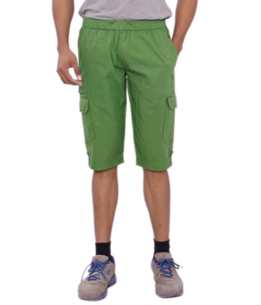 Mountain Colours Green 3/4ths
