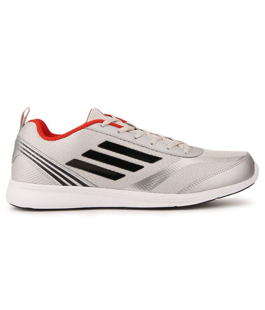 7fe4cd9d8af7bb Adidas Adiray Silver Running Sports Shoes - Buy Adidas Adiray Silver ...