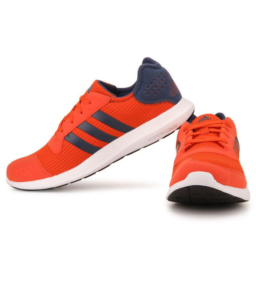 99252a12539dc5 Adidas Element Refresh Orange Running Sports Shoes Adidas Element Refresh  Orange Running Sports Shoes ...