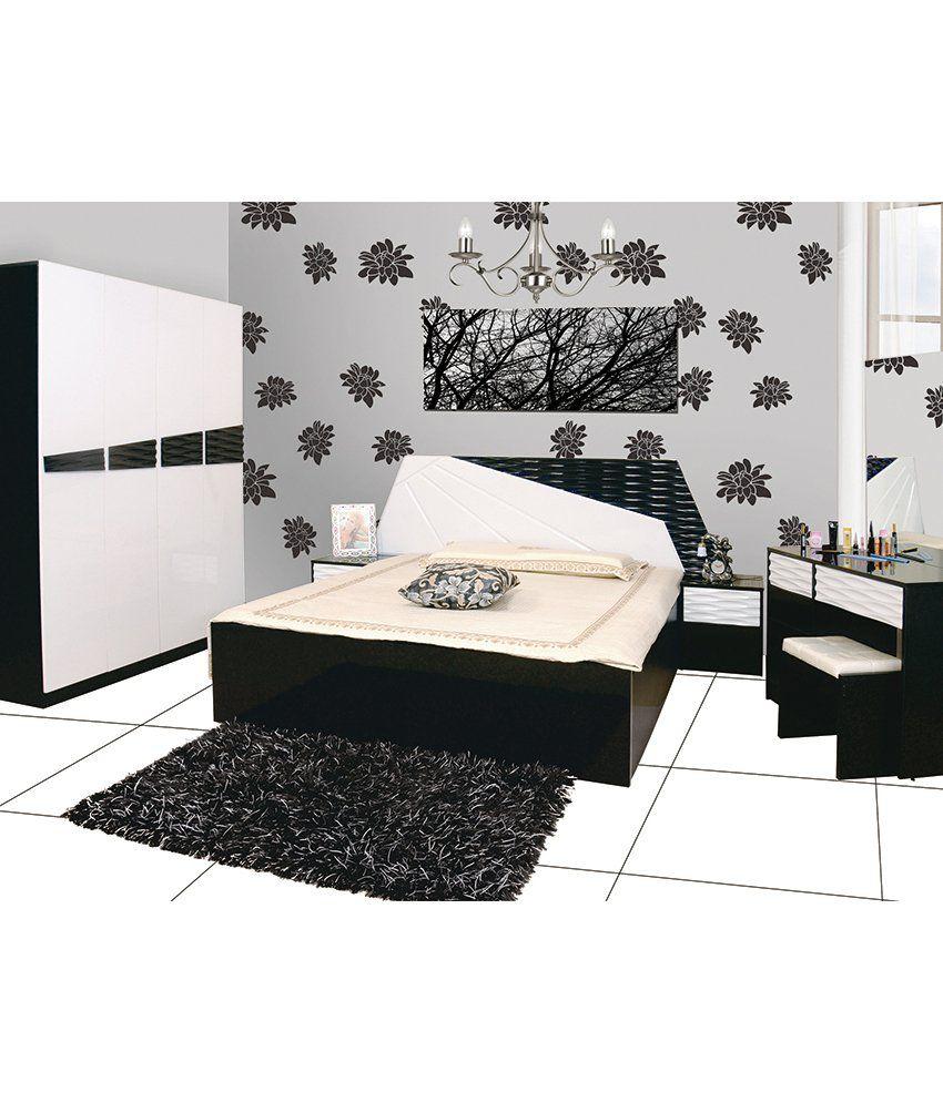 Parin Lune Bedroom Set in White