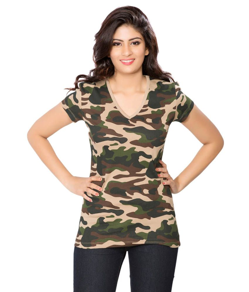 Clifton Green Army T-shirt for Women