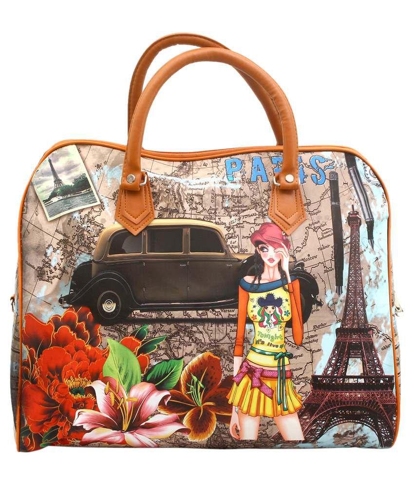 Fabseasons Multi P.U. Shoulder Bag