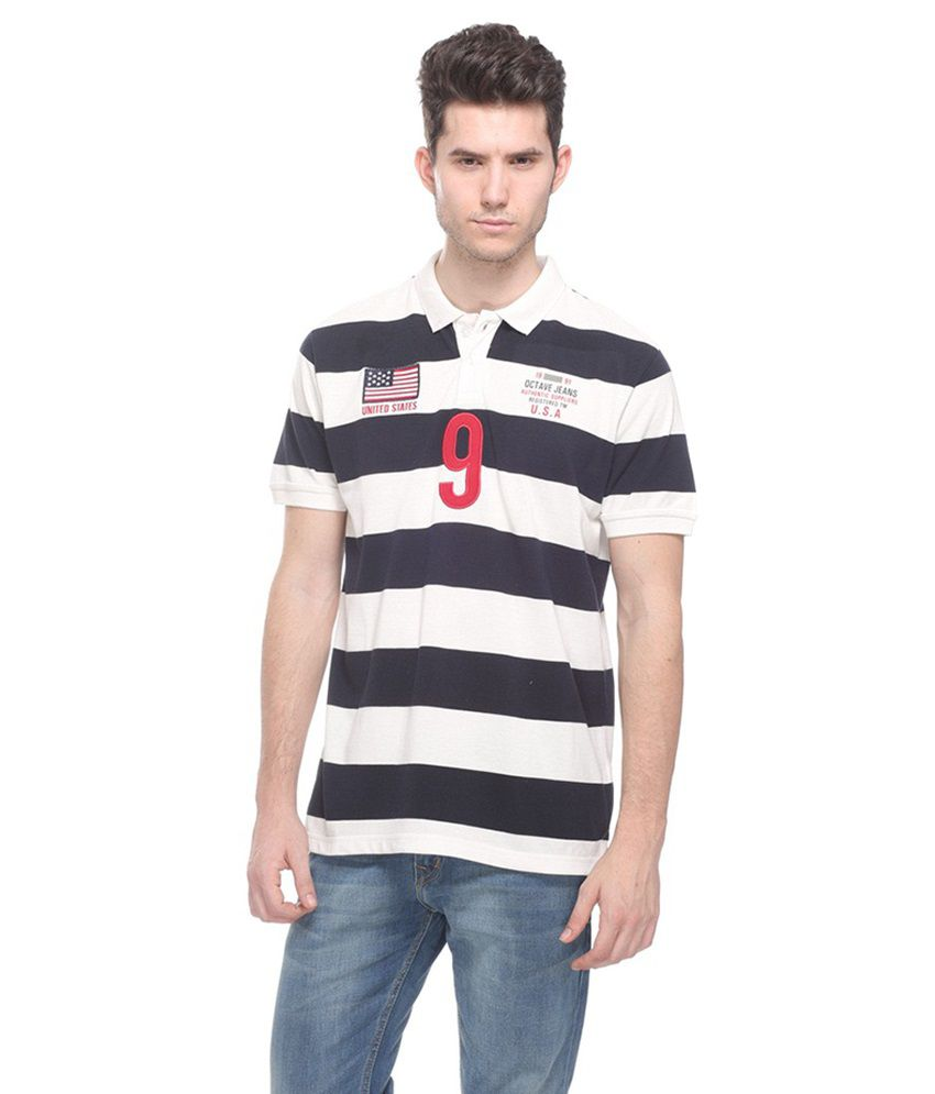 Octave Multi Henley T Shirts