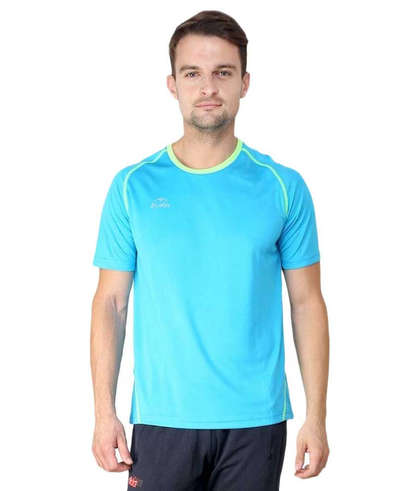 The Future Wear Blue Round T Shirts