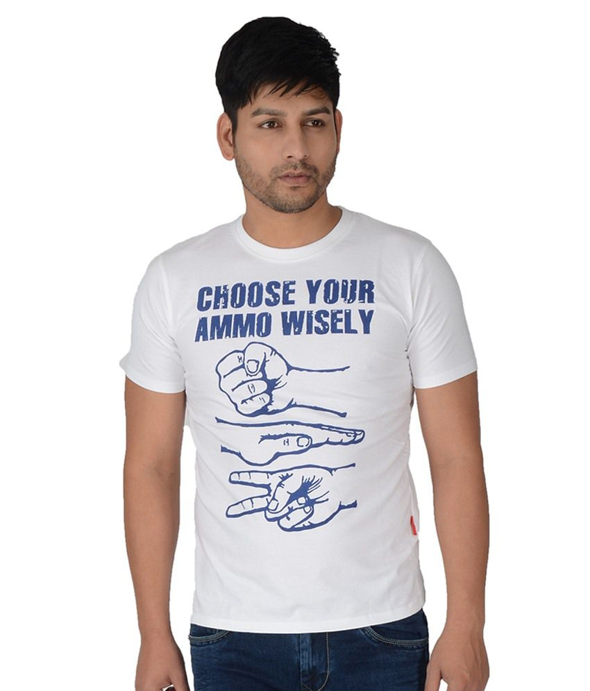 Integriti White Round T Shirts
