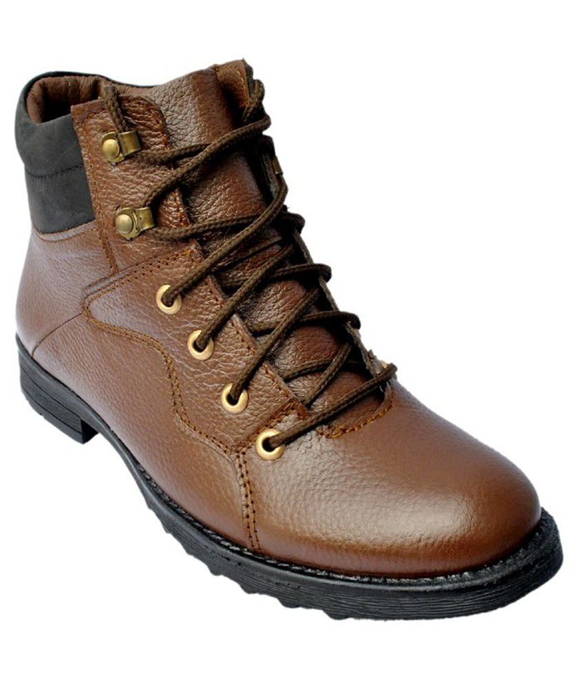 JT Brown Boots