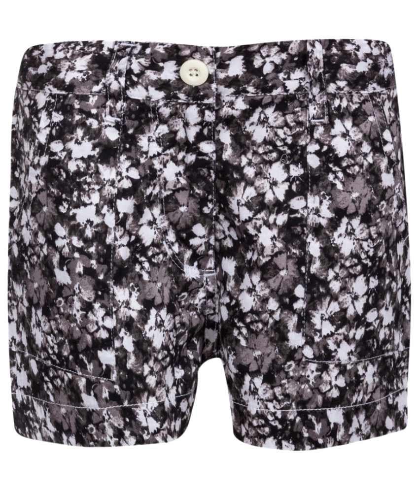 Miss Alibi Multicolour Cotton Shorts for Girls