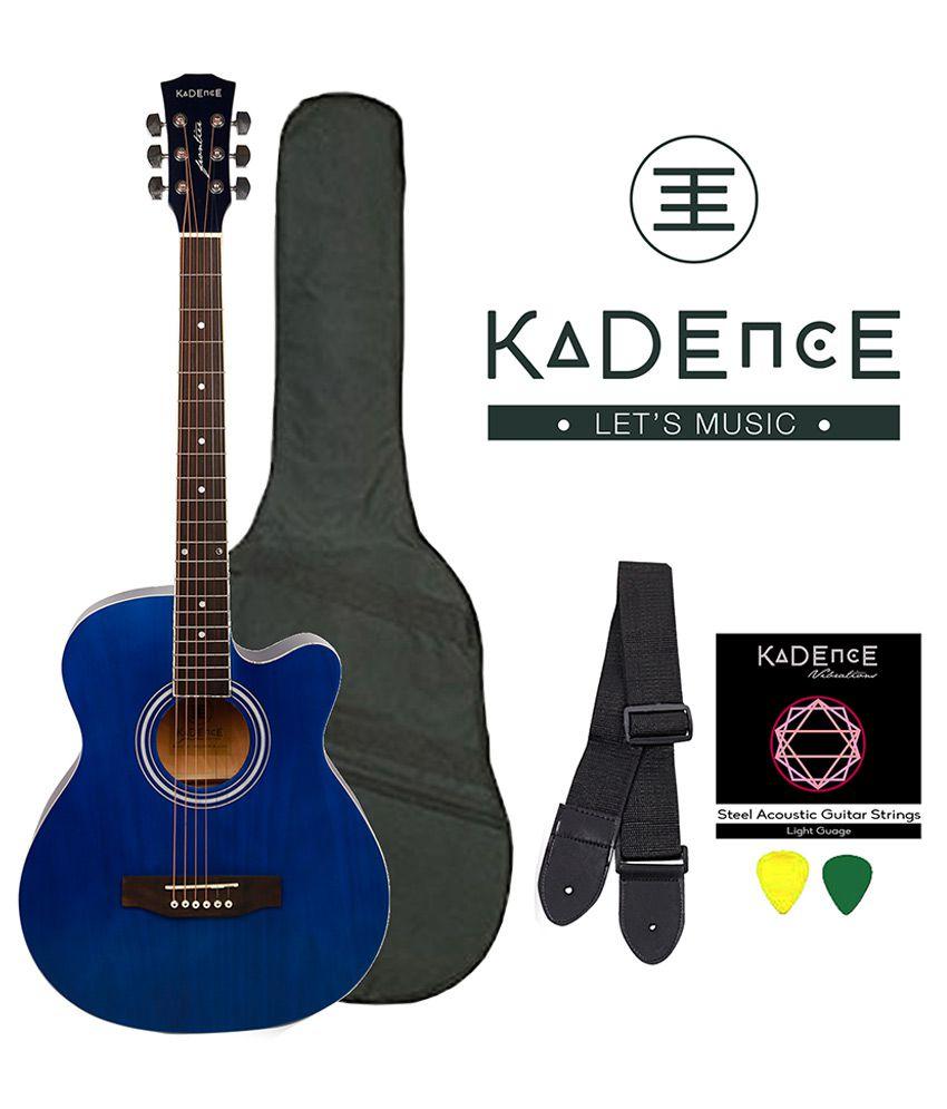 kadence kad fntr blu blue acoustic guitar buy kadence kad fntr blu blue acoustic guitar online. Black Bedroom Furniture Sets. Home Design Ideas
