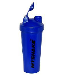 My Shake Blue Classic Shaker Bottle -600Ml