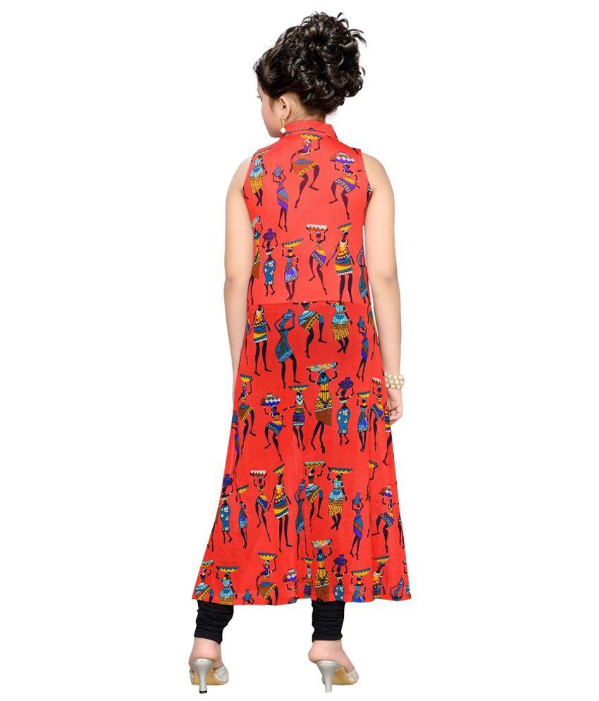 8d4c1d12aa09 Hunny Bunny Orange Acrylic Dress - Buy Hunny Bunny Orange Acrylic ...