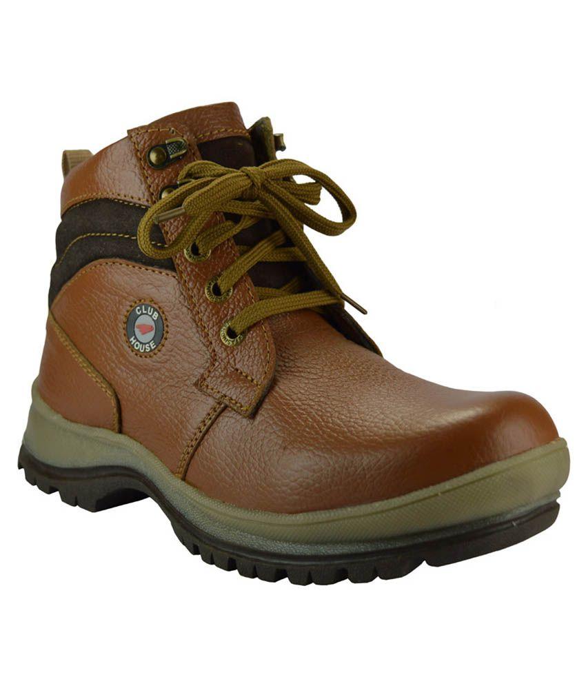 Winkel Shoes Tan Boots