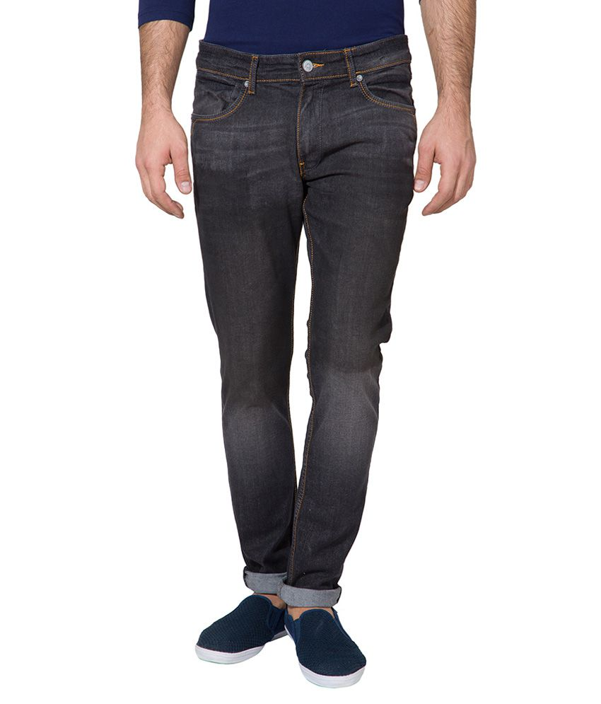 Locomotive Black Slim Fit Jeans