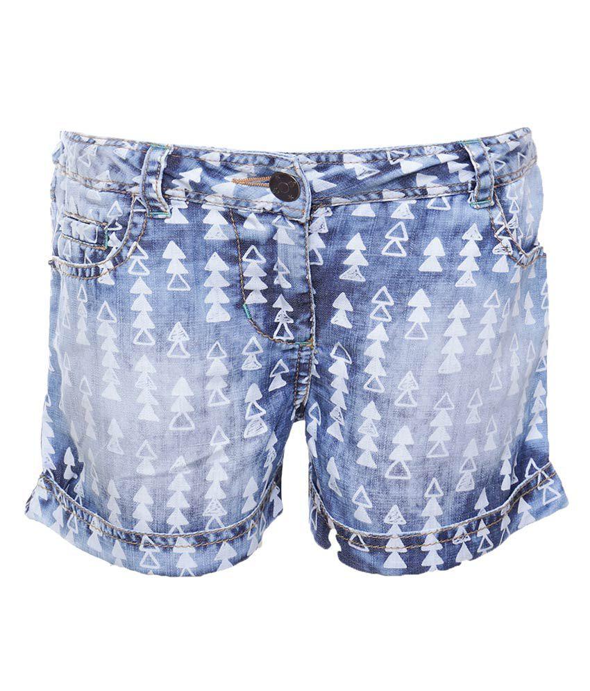 UFO Blue Shorts