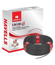 Havells PVC Insulated Core Cable - 6MM (Pack Of 2) - 651532135924