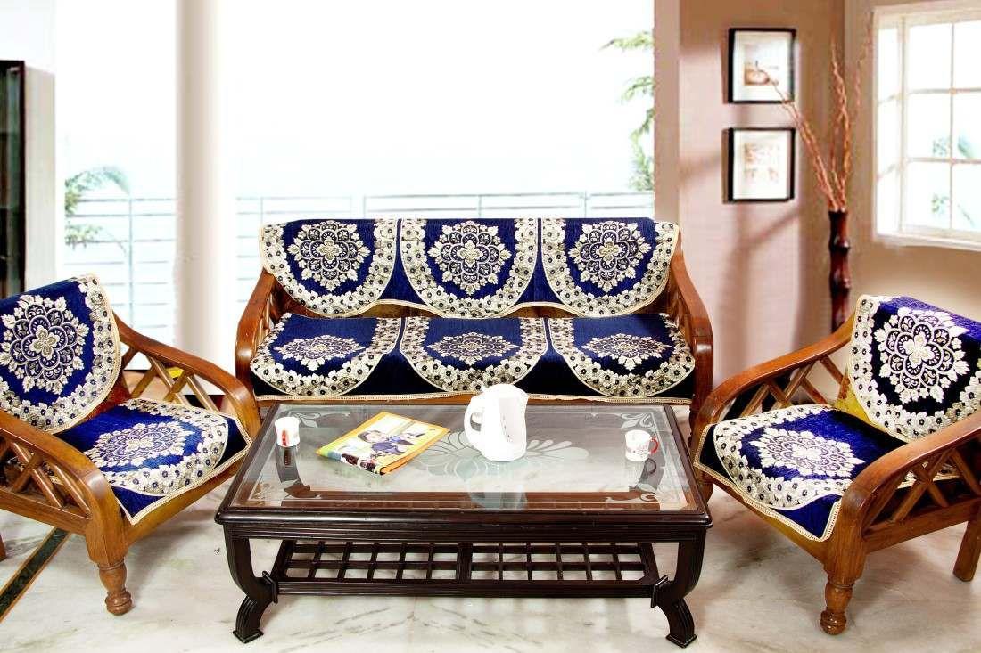 Fab Nation Luxury Designer Sofa Covers Set Of 10