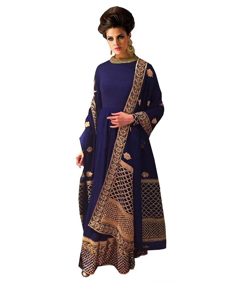 ead83016d2 Greenvilla designs blue lehengas Lehengas Prices in India - Shop ...