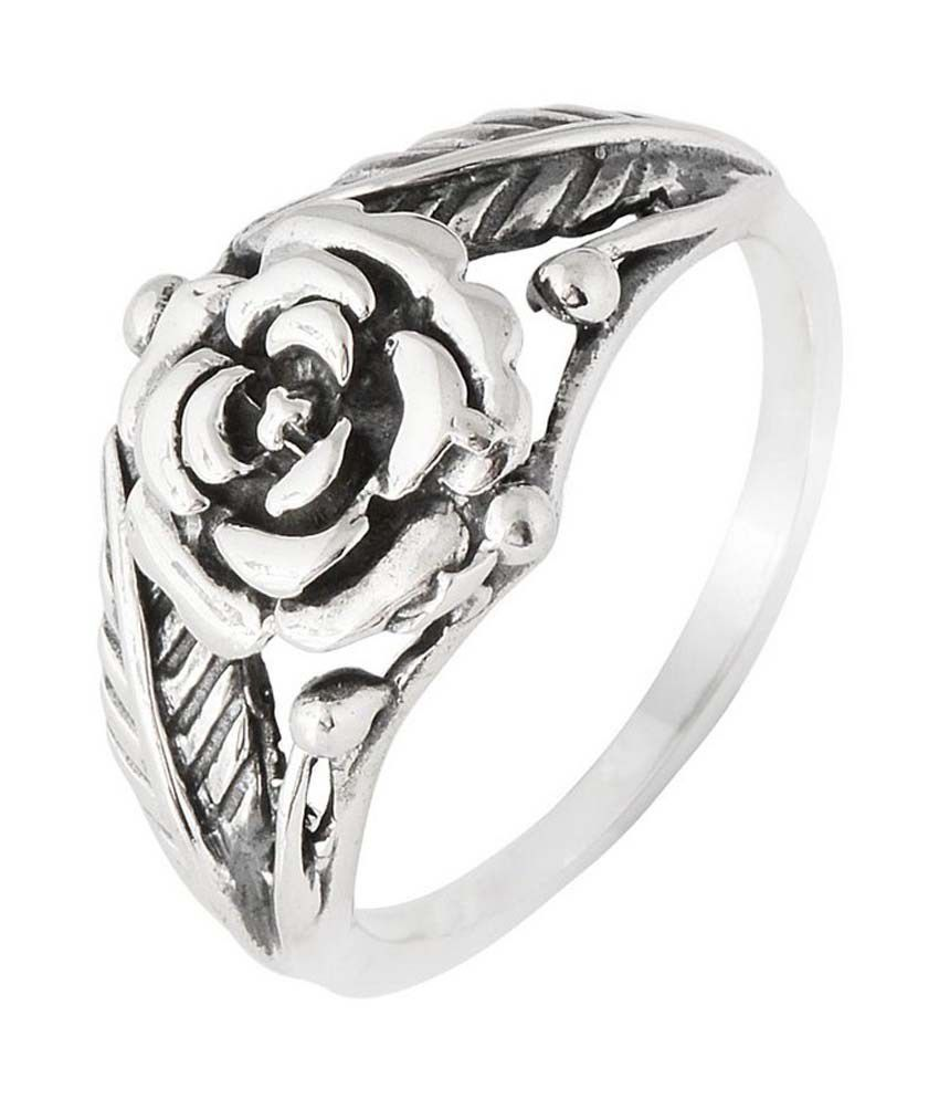 Jewels Of Jaipur 92.5 Sterling Silver Ring