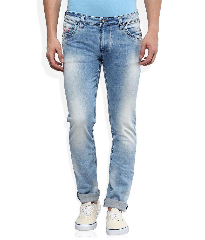 LAWMAN pg3 Blue Slim Fit Jeans