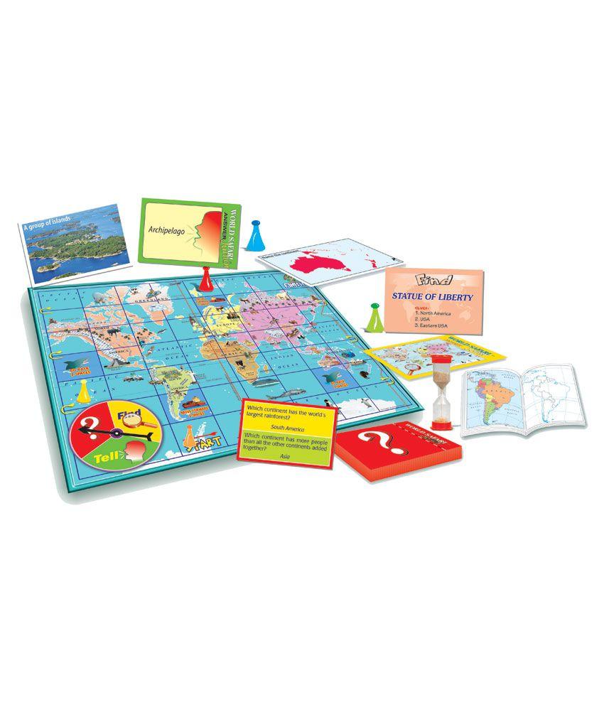 Creatives World Safari Junior Educational Game