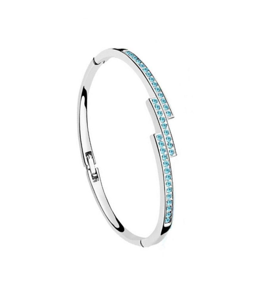 ARK Jewellery Blue Alloy Bracelet