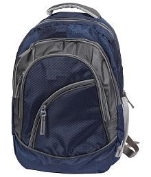 FIPPLE Navy and Grey Canvas Laptop Bag For Samsung Laptops