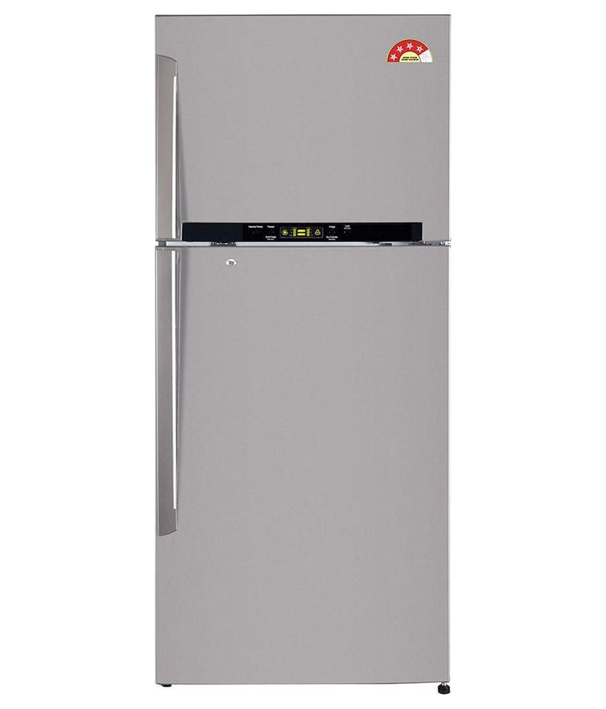 LG 470 Ltr 4 Star GL-T522GNSL Double Door Refrigerator [with Dual Fridge Feature]