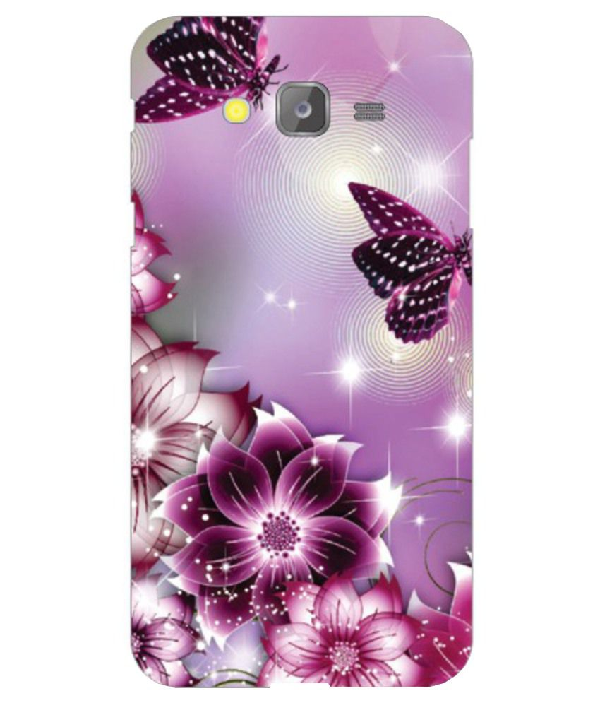 pretty nice 5224e ea883 Samsung Galaxy J5 Printed Covers by Via Flowers - Purple