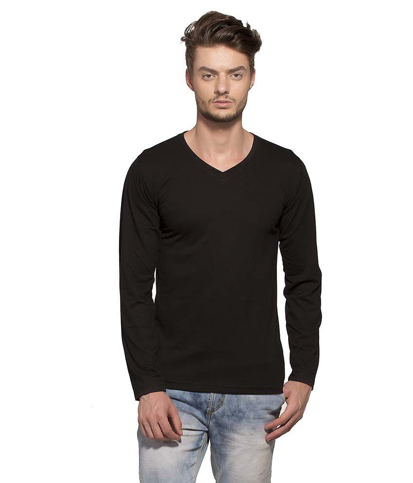 Alan Jones Clothing Black V-Neck T Shirt