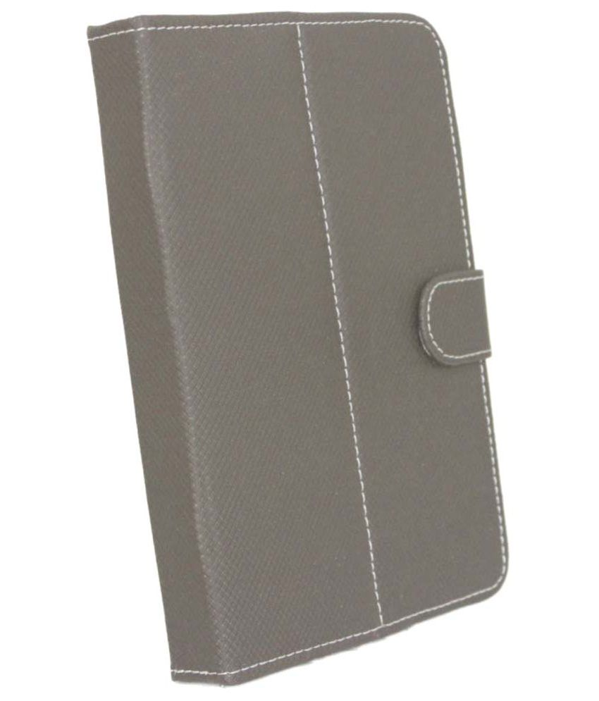 Jo Jo Flip Cover for iBall Slide 6095 Q700   Grey available at SnapDeal for Rs.285