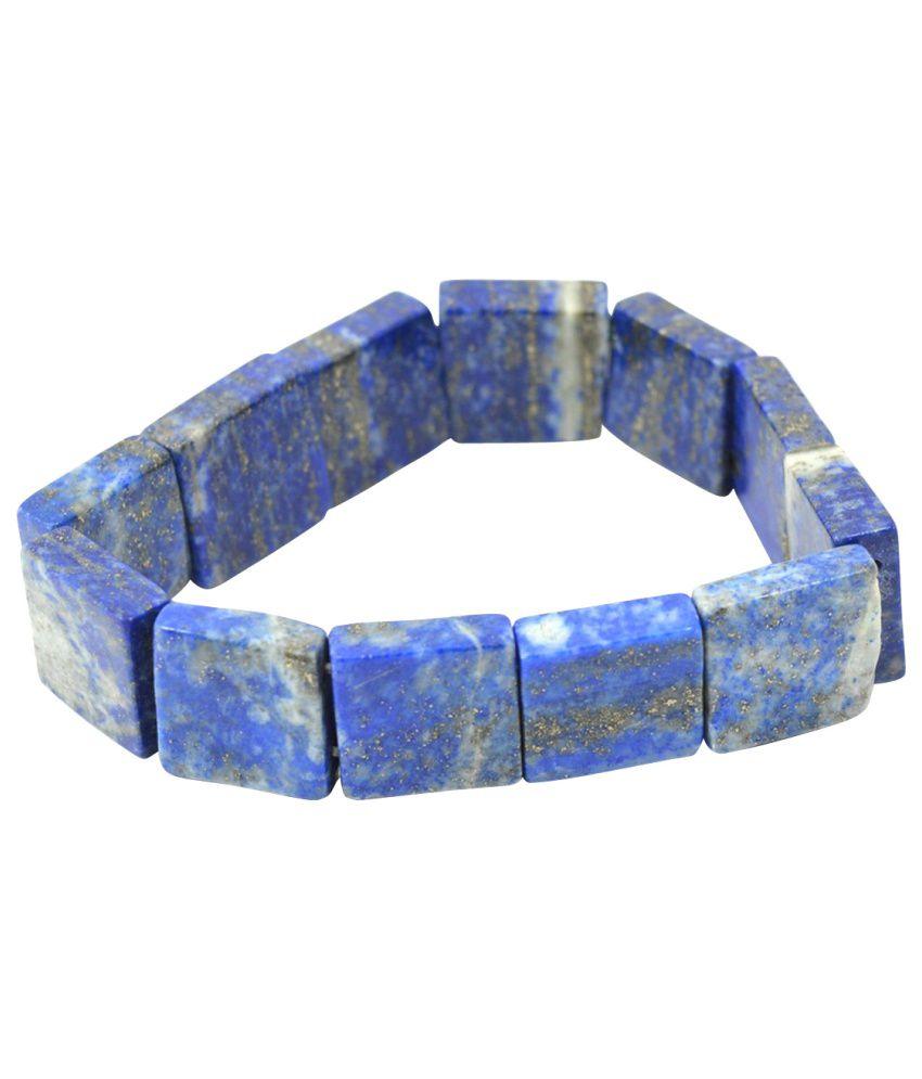 Shopoj Blue Enamel Bracelet