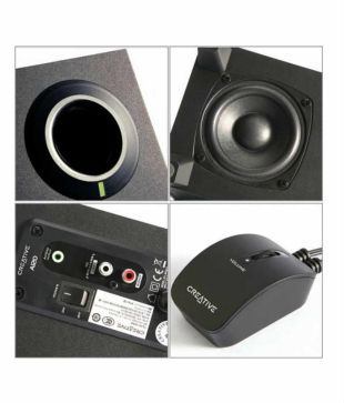 Buy Creative SBS A120 2.1 Multimedia Speakers - Black Online at Best Price  in India - Snapdeal